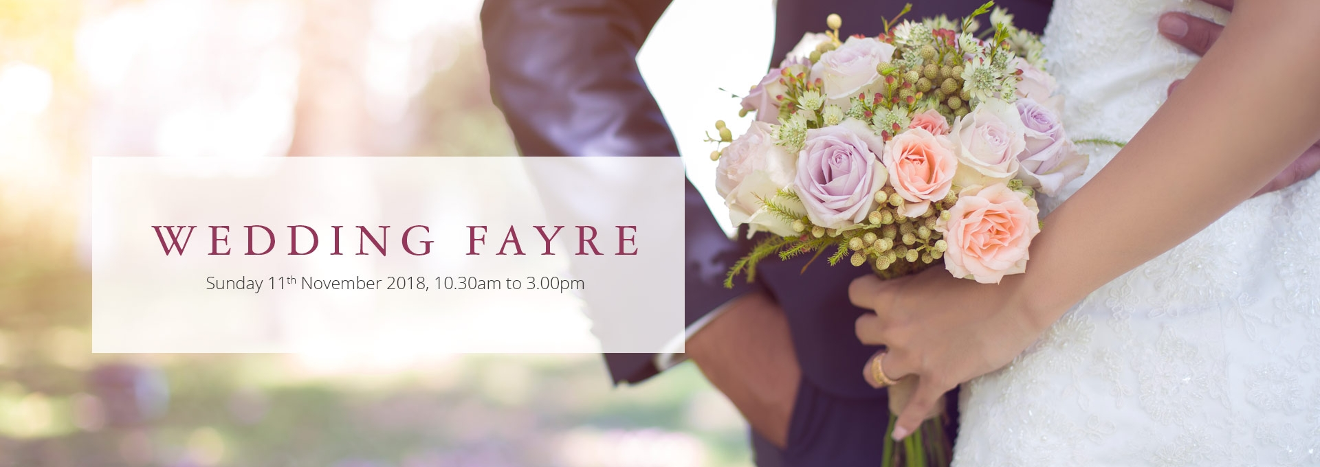Wedding Fayre at the Durrant House Hotel