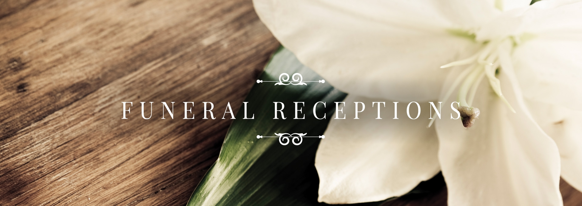 Funeral Receptions