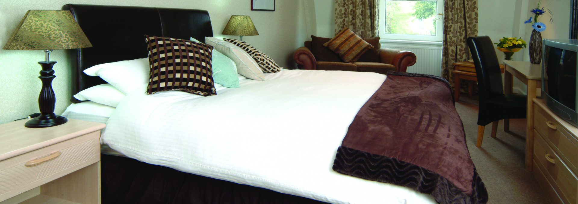 Standard Bed at the Durrant House Hotel, North Devon