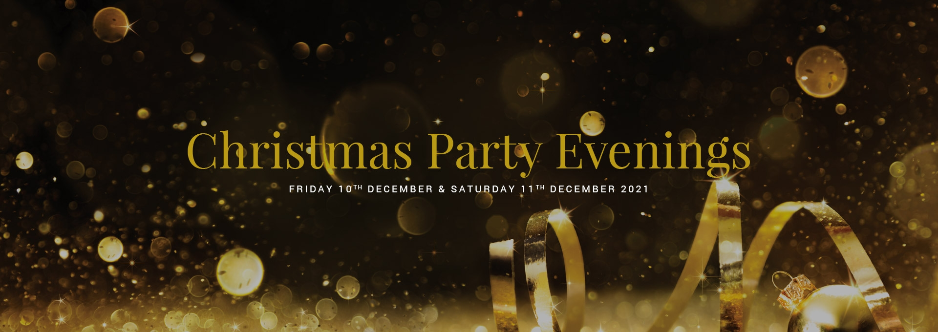 Christmas Party Evenings at the Durrant House Hotel in December 2021