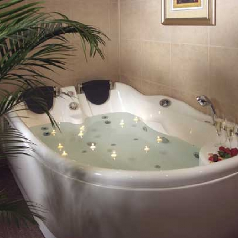 Jacuzzi Suite at the Durrant House Hotel Devon