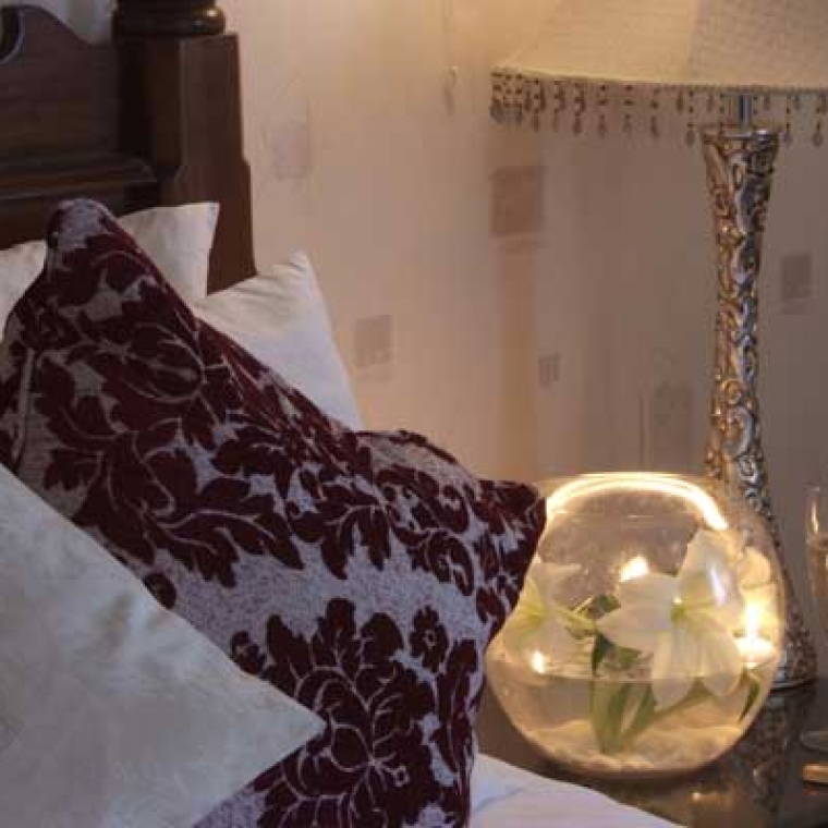Bedrooms at the Durrant House Hotel Devon