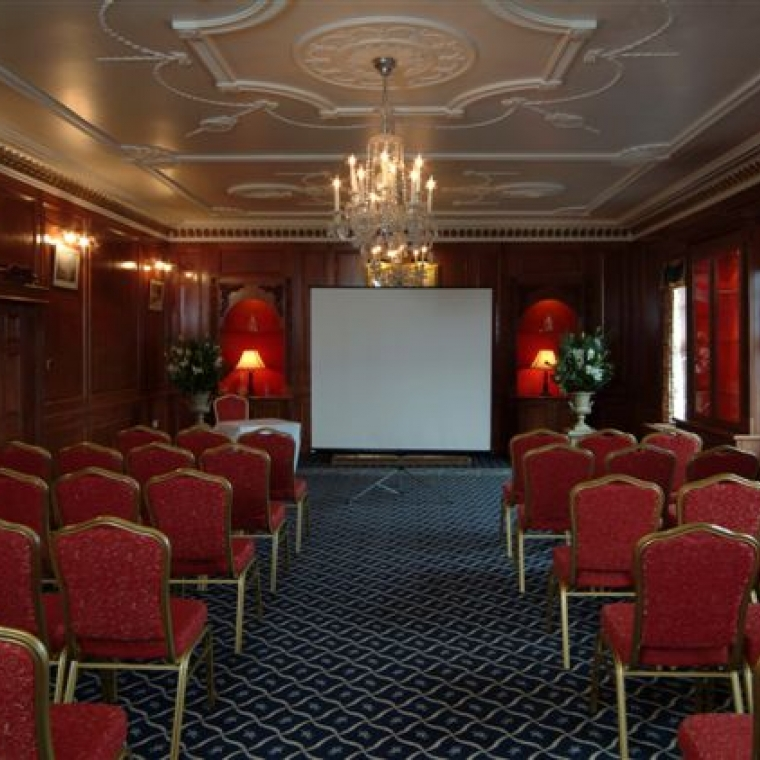 Penthouse Room at the Durrant House Hotel being used as a conference room