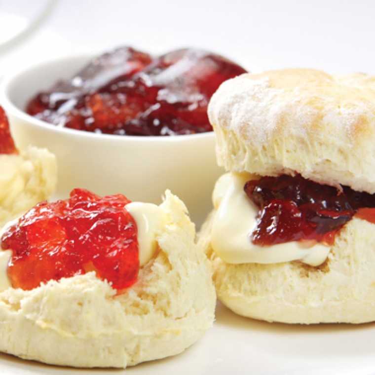 Cream Tea at the Durrant House Hotel