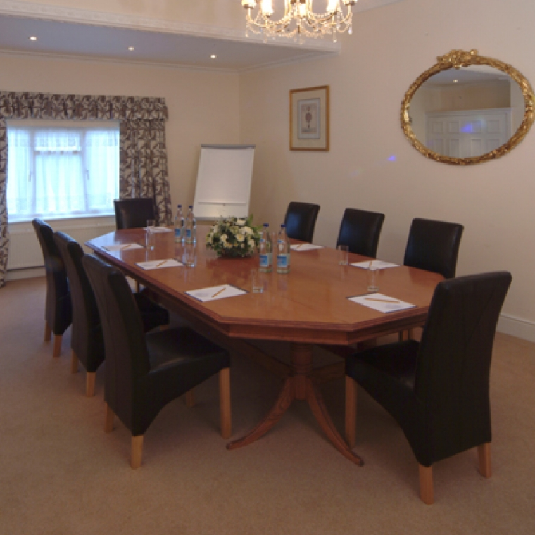 Business conference table Bideford Hotel