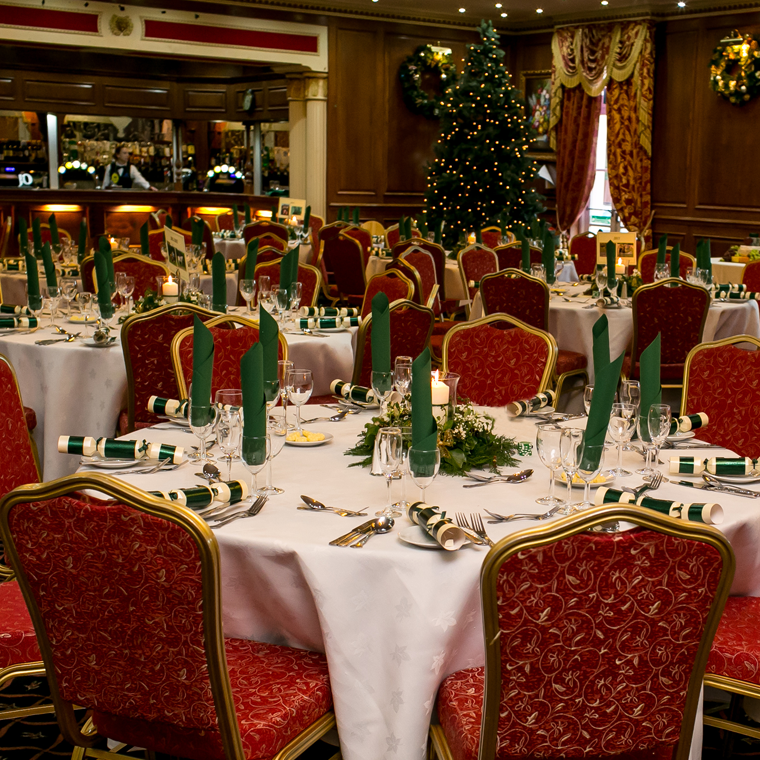 Christmas Party Room Durrant House Hotel Bideford
