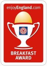 Durrant House Hotel has been awarded enjoyEngland's Breakfast Award