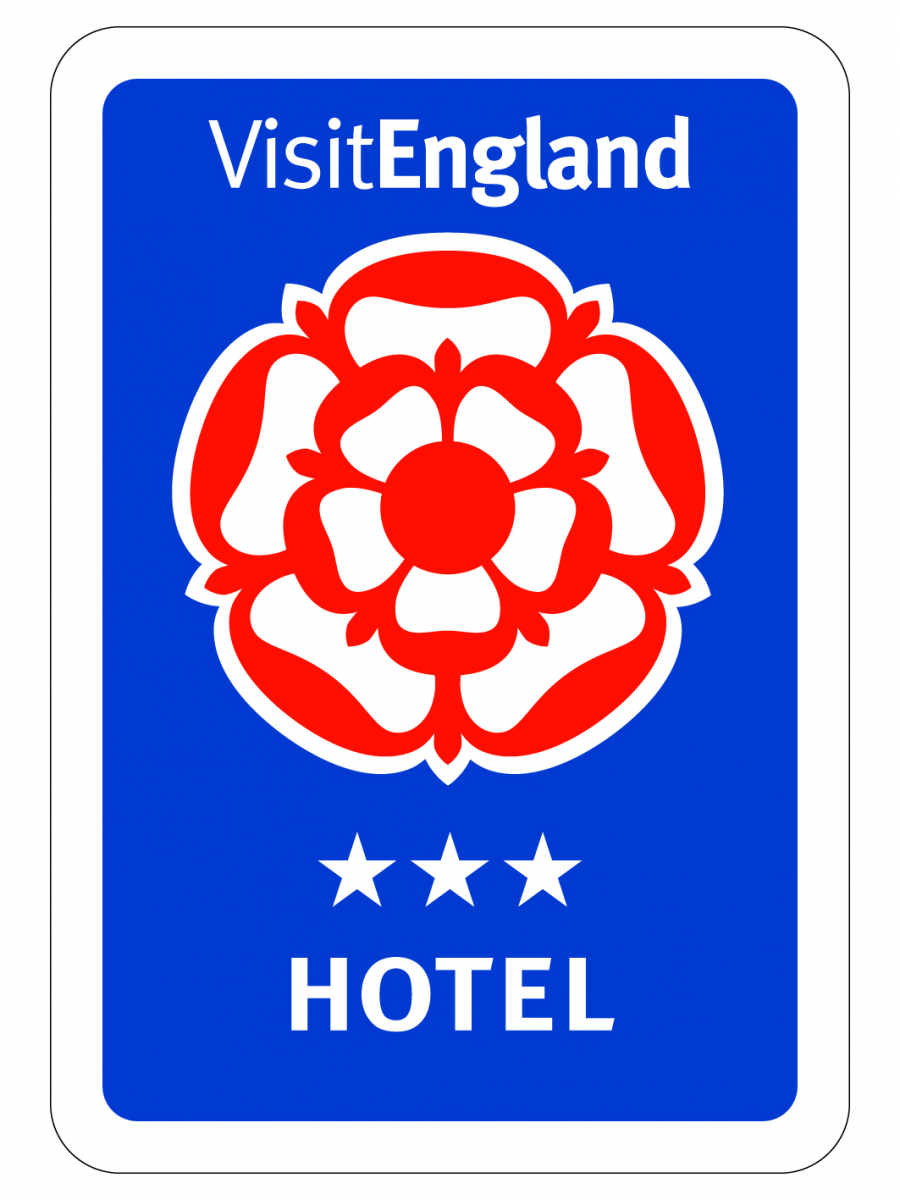 Durrant House Hotel is Rated 3 Stars by VisitEngland